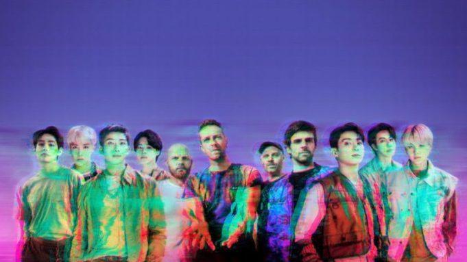 """""""My Universe"""", colaborarea Coldplay cu BTS, pe primul loc în topurile americane ale single-urilor"""