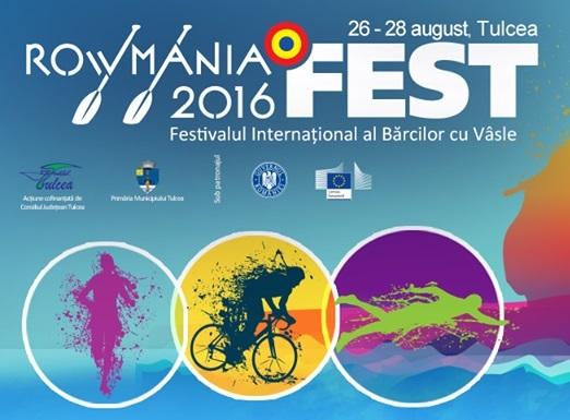Rowmania Fest 2016: Competiţii sportive, concerte, statui vivante, proiecţii de filme şi expoziţie de fotografie