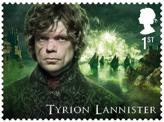 Tyrion Lannister (Foto: Royal Mail)