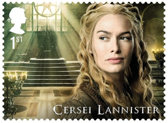Cersei Lannister (Foto: Royal Mail)