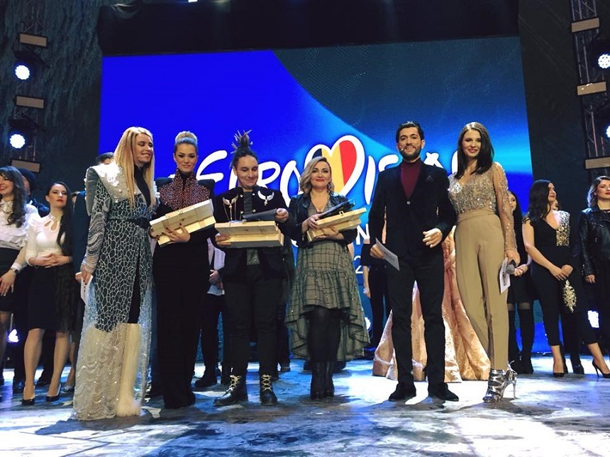 Eurovision România: Claudia Andas, Feli şi Tiri au câştigat cea de-a patra semifinală, care a avut loc la Salina Turda