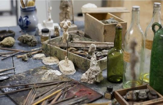 Atelierul lui Giacometti (Foto: Fundaţia Giacometti)