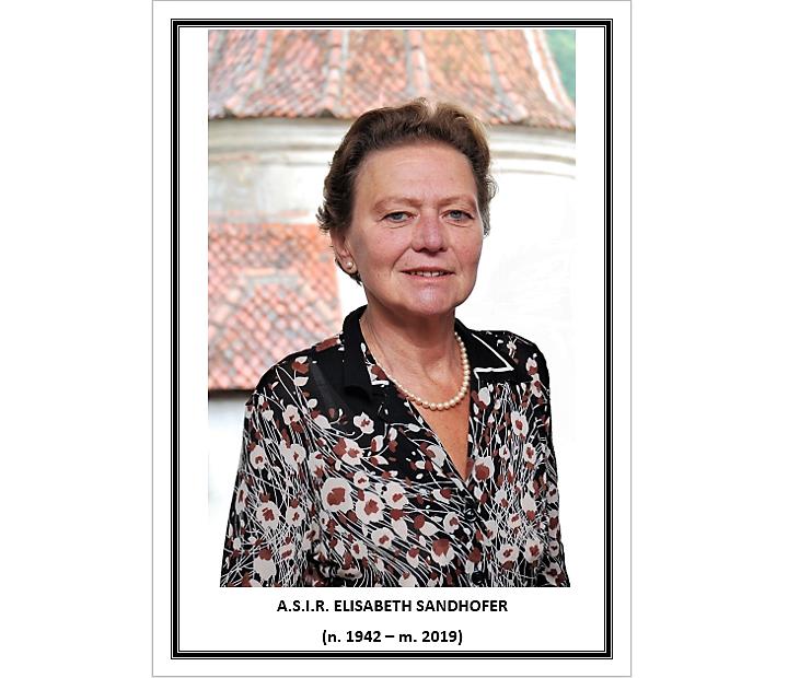 Arhiducesa Elisabeta Sandhofer, fiica principesei Ileana, a murit la vârsta de 69 de ani