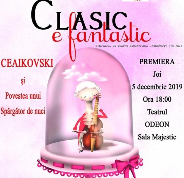 """""""Ceaikovski şi Povestea unui spărgător de nuci"""", în premieră la Teatrul Odeon"""