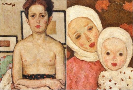 """Catrina"" şi ""Maternitate"", de Nicolae Tonitza"