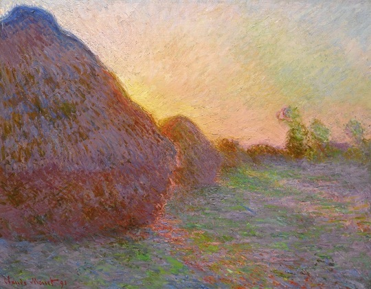 """Meules"" (1890), de Claude Monet"