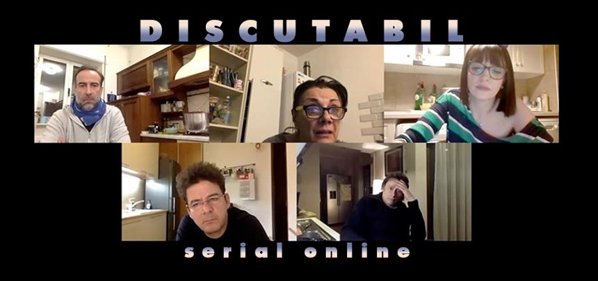 """Primul episod al serialului online """"Discutabil"""", peste 80.000 de vizualizări în aproximativ 48 de ore"""