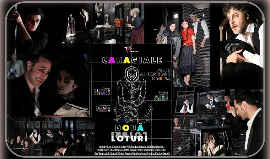 """Spectacolul """"Două loturi"""", cu Marius Manole şi Ana Ciontea, difuzat în weekend de Teatrul Naţional din Bucureşti"""