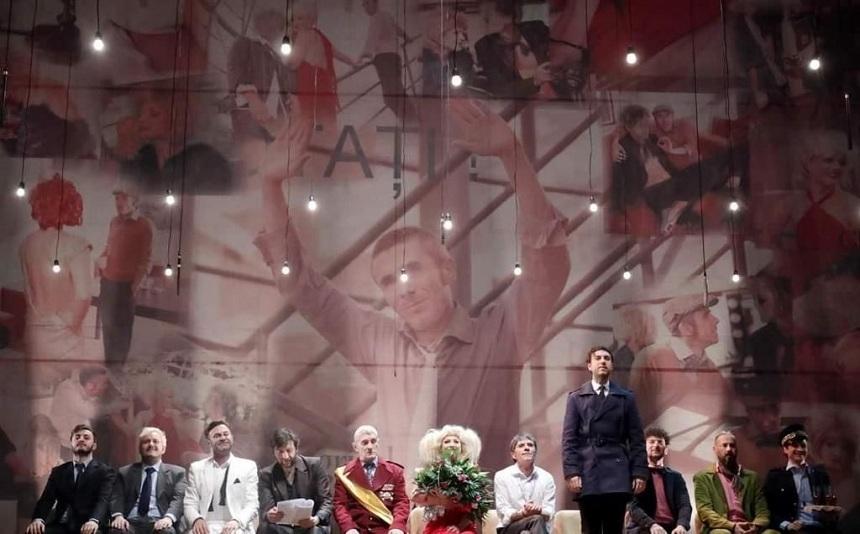 """""""O scrisoare pierdută"""", transmisiune în direct de la Teatrul Naţional din Timişoara pe 1 decembrie"""
