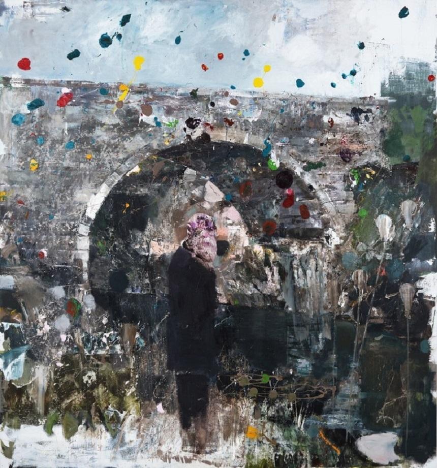 "Tabloul ""The Death of Charles Darwin"" de Adrian Ghenie, adjudecat la Sotheby's pentru 6 milioane de euro"