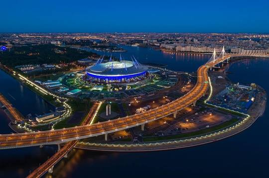 FOTO: Facebook Saint Petersburg Stadium