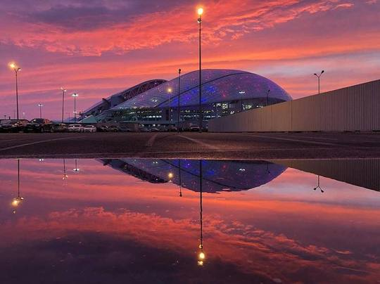 FOTO: Facebook Fisht Olympic Stadium