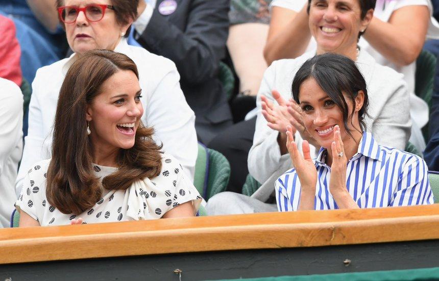 Ducesele de Cambridge şi de Sussex asistă la finala Williams – Kerber. Cele două au fost prezente şi la confruntarea Djokovici – Nadal