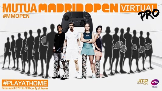 Angelique Kerber şi Andy Murray şi-au anunţat participarea la turneul virtual de la Madrid