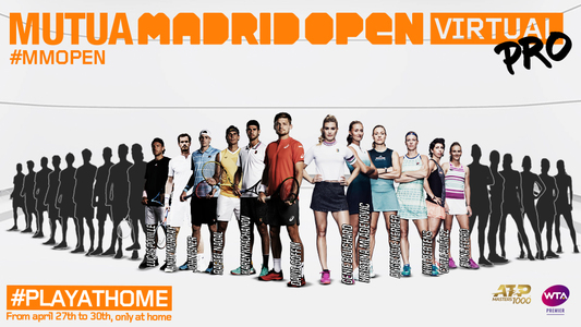 David Goffin, Karen Haceanov, Kristina Mladenovic şi Eugenie Bouchard vor participa la turneul virtual Madrid Open