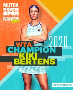 Kiki Bertens a câştigat turneul Mutua Madrid Open Virtual Pro