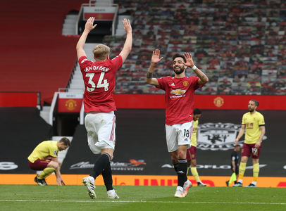 Manchester United a învins Burnley, scor 3-1, în Premier League