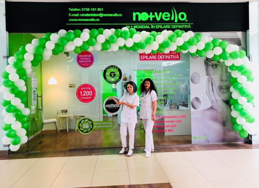 COMUNICAT DE PRESĂ: Brandul Nomasvello a inaugurat cel de-al 42-lea centru de înfrumusetare, in Constanta