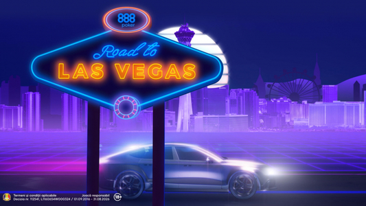 COMUNICAT DE PRESĂ: Road to Vegas, reloaded: 6 noi turnee online, 6 noi show-uri TV
