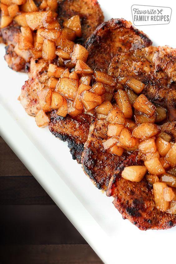 Cele mai bune COTLETE de porc pe care le-ai mâncat. Ingredientul surpriză e un fruct
