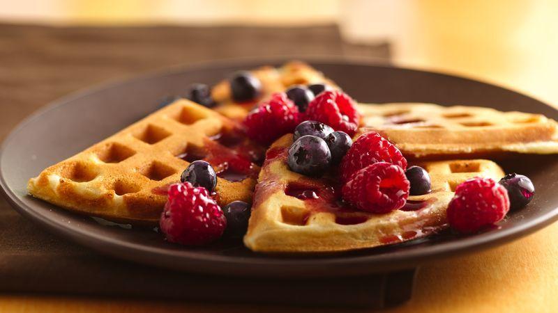 Waffles, cea mai simplă reţetă de făcut acasă