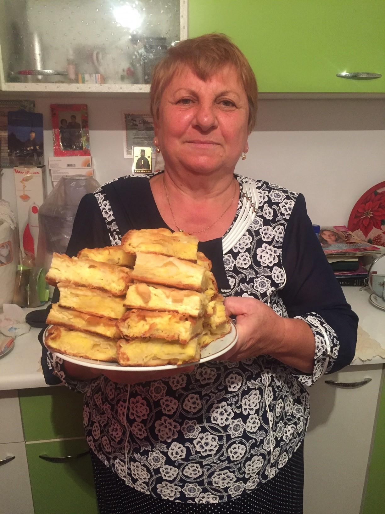 Placintă cu urdă şi brânză