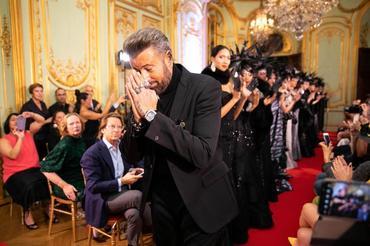 Cătălin Botezatu a făcut un show de zile mari la Paris Fashion Week