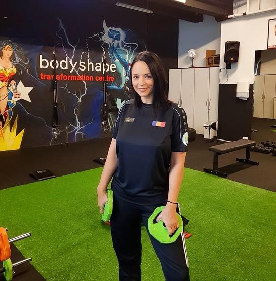 Prin ce trece Andreea Marin la antrenamentul Bodyshape pentru a reveni în formă FOTO