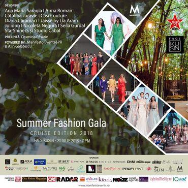 Vino şi tu la cel mai aşteptat eveniment al verii: Summer Fashion Gala 2018!