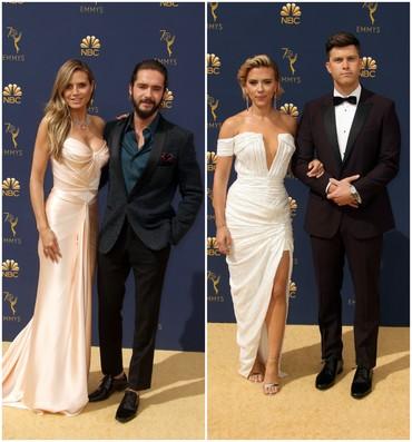 Eleganţă la dublu! Staruri care au venit acompaniate de partenerii lor la Premiile Emmy
