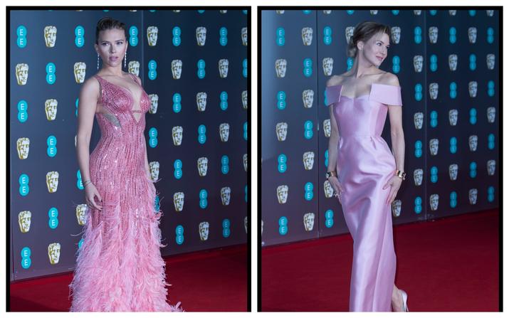 Scarlett a ales o creaţie Atelier Versace, iar Renee o ţunută Prada