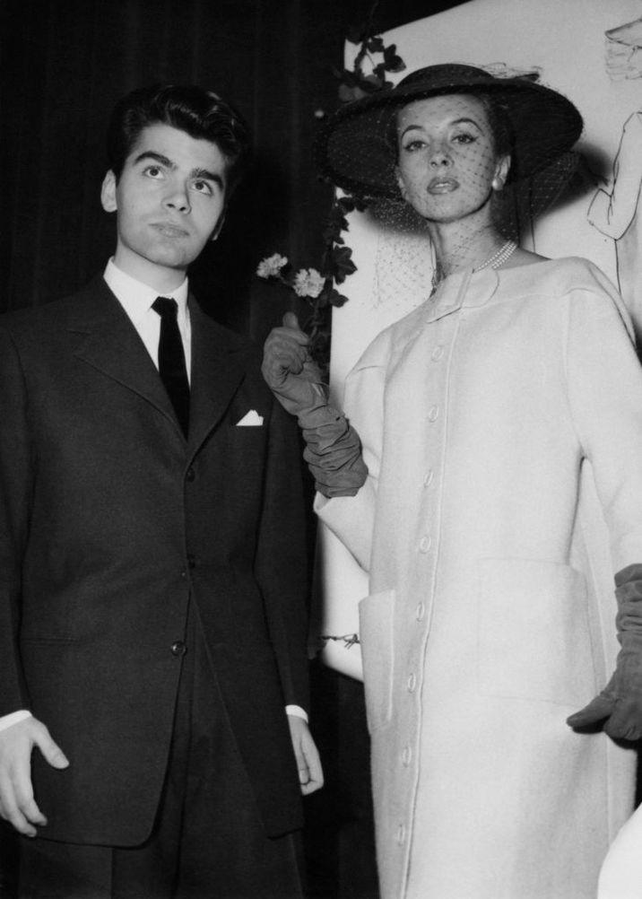 Aşa arăta Karl Lagerfeld în 1954, fără ochelari de soare
