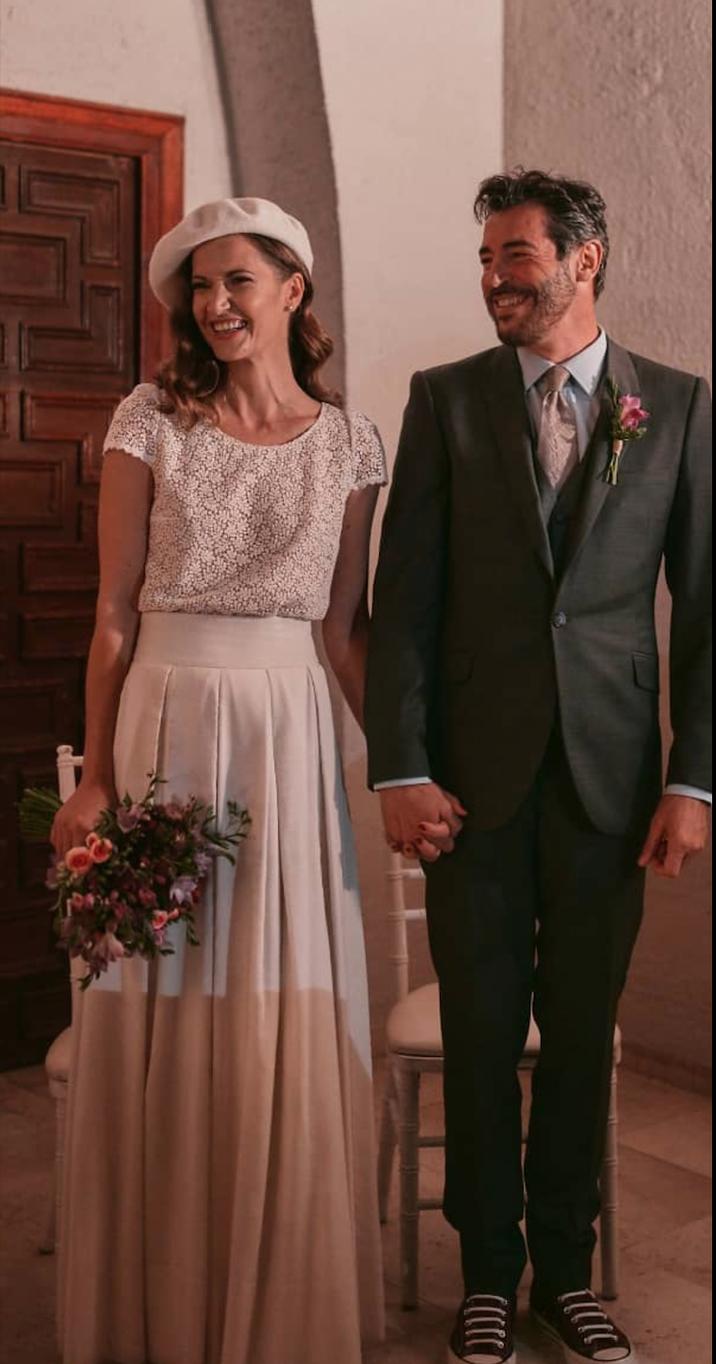 Diana şi Xavier s-au căsătorit în 2018, în Spania.