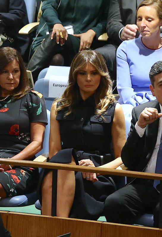 Melania Trump, tristă în timpul discursului lui Donald Trump! Au probleme în relaţie?