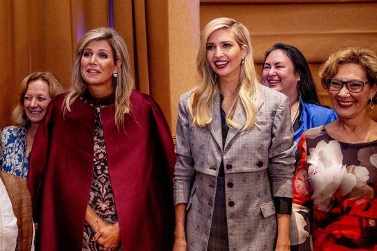 Întâlnirea celor două graţii: Ivanka Trump şi Regina Maxima a Olandei