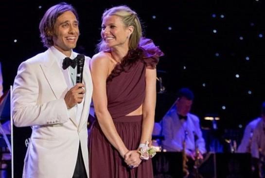 După o nuntă discretă, Gwyneth Paltrow are parte de o lună de miere extravagantă FOTO