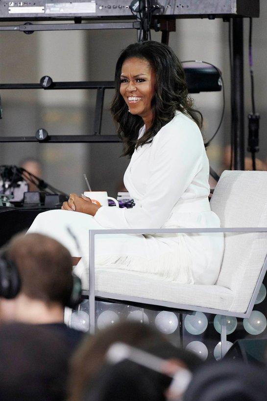 Michelle Obama, splendidă într-o apariţie televizată recentă