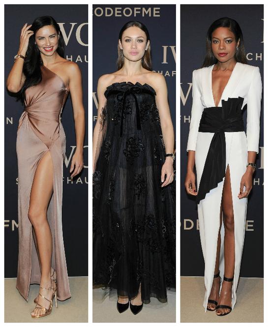 "Adriana Lima, Olga Kurylenko şi Naomie Harris au strălucit la Gala ""Decoding the Beauty of Time"""