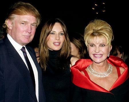 """Ivana, prima soţie a lui Donald, către Melania Trump: """"Eu sunt Prima Doamnă!"""""""
