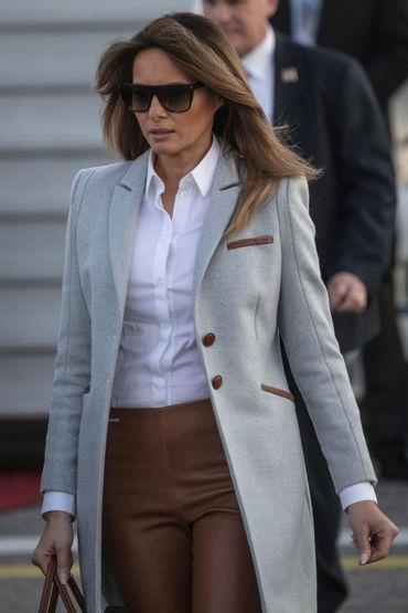 Ţinutele pe care Melania Trump le-a purtat în Finlanda. S-a inspirat din garderoba lui Kate Middleton!