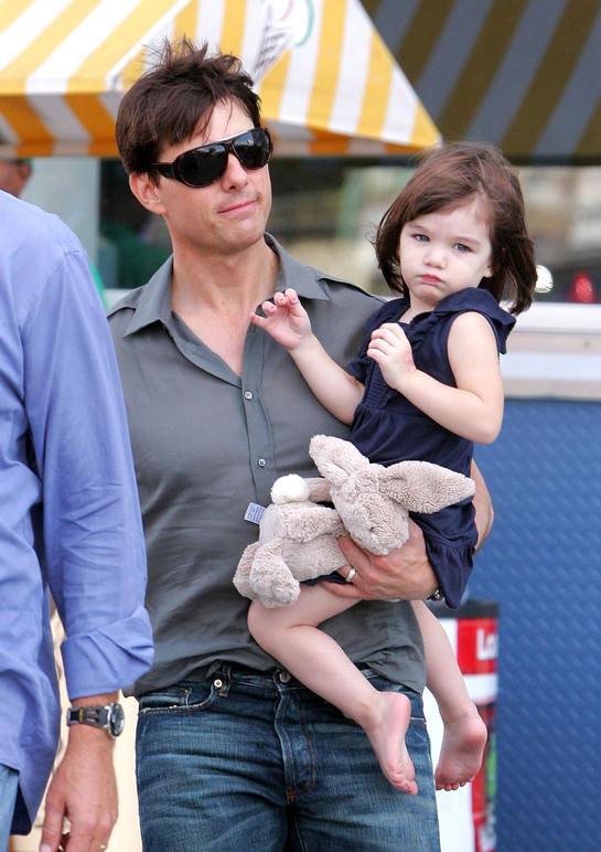 Ce mare s-a făcut fiica lui Tom Cruise! E aproape adolescentă