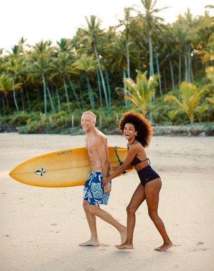 Vincent Cassel şi Tina Kunakey, o iubire ca-n filme FOTO&VIDEO