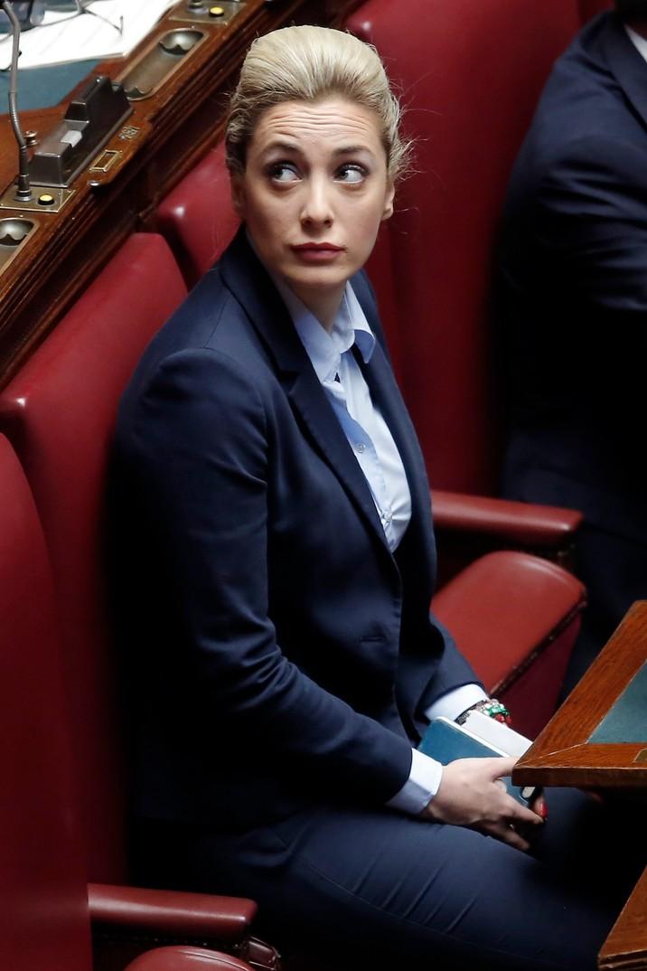 Marta Fascina face parte din partidul lui Berlusconi.