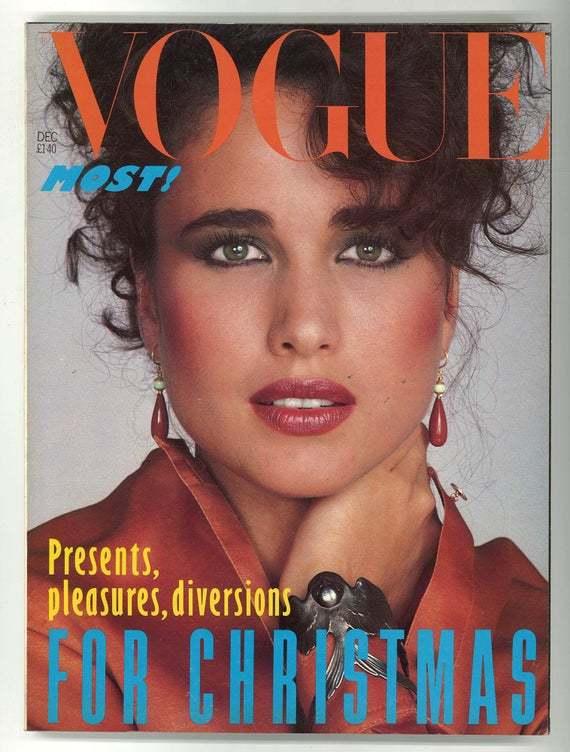 Apariţia în Vogue a propulsat-o în universul supermodelelor.
