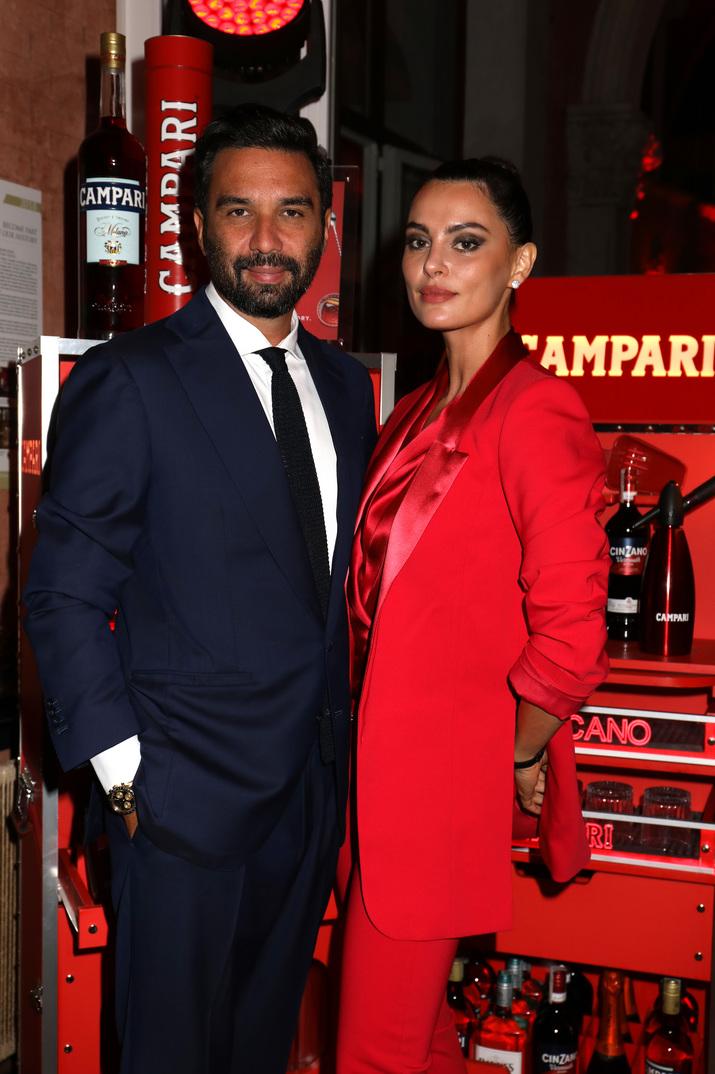 Catrinel Marlon şi Massimiliano au împreună o fetiţă.