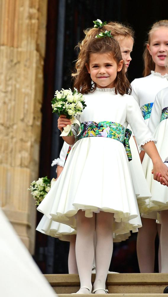 Fiica lor, Theo, a fost domnişoară de onoare la nunta Prinţesei Eugenie.