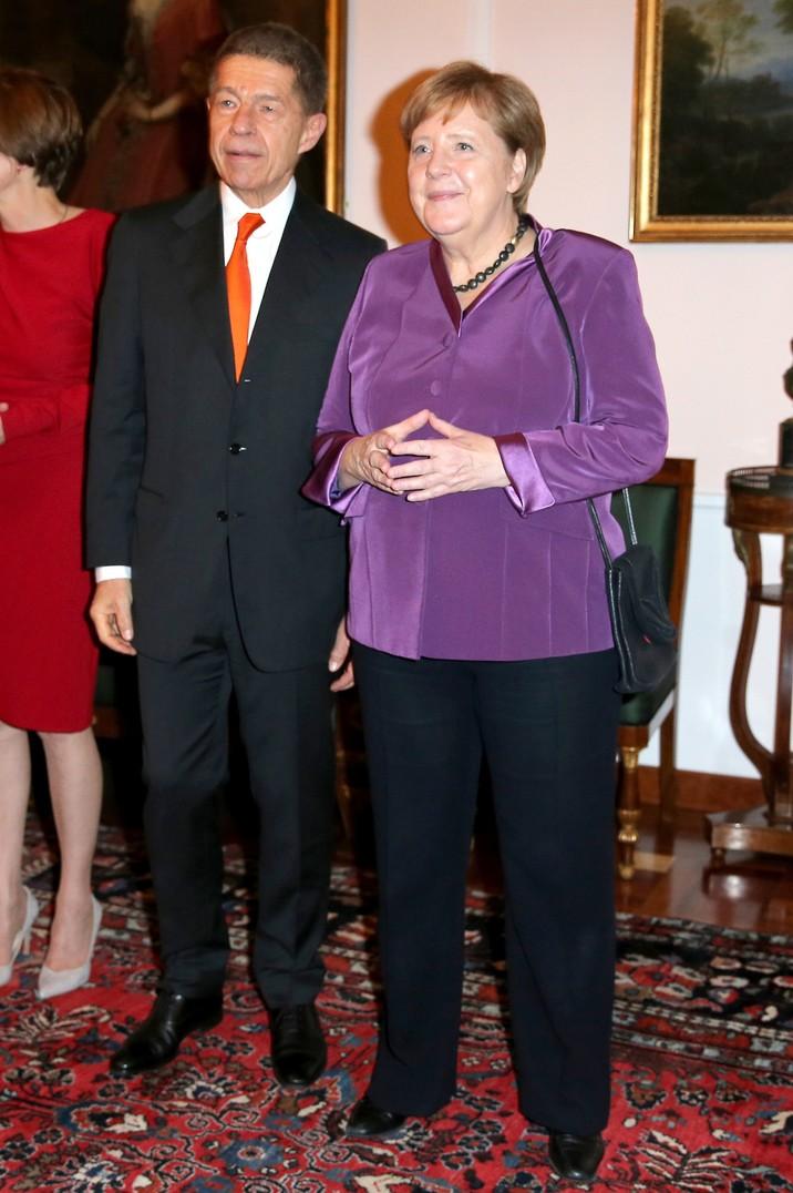 Angela Merkel  şi soţul ei