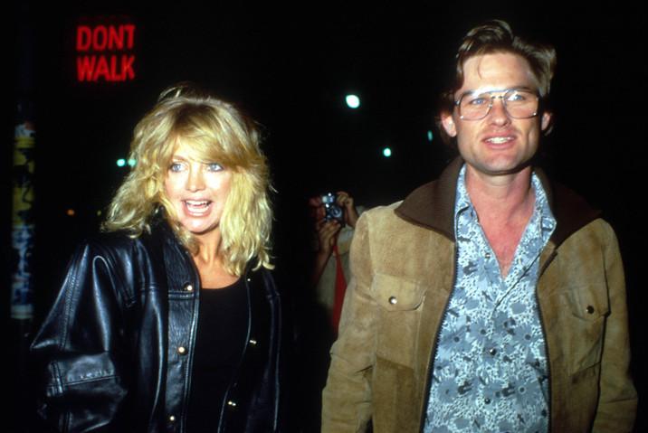 Goldie Hawn  şi Kurt Russell
