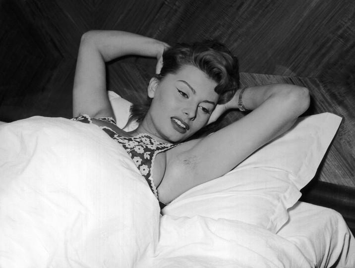 Sophia Loren în tinereţe