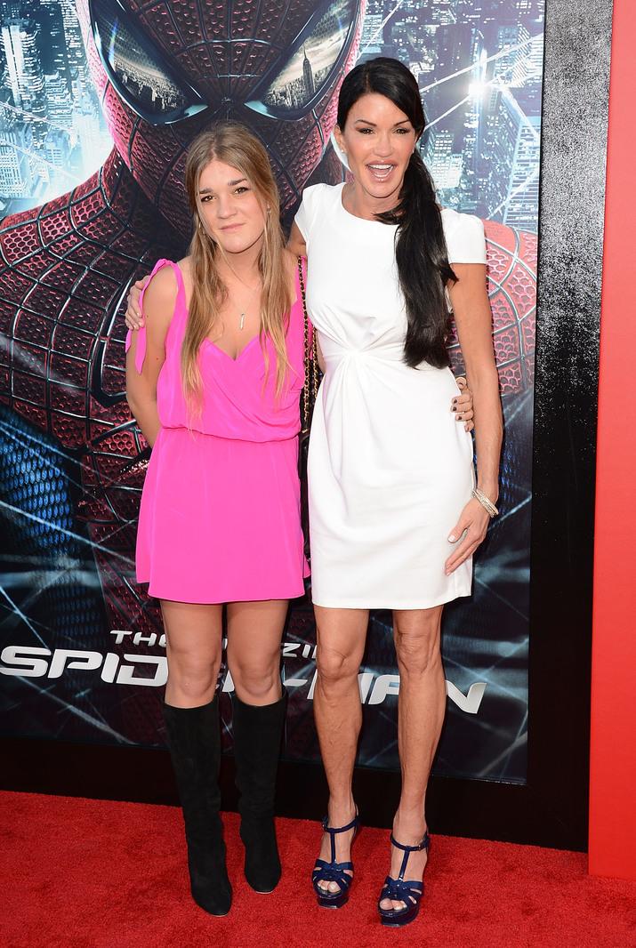 Janice şi presupusa fiică a lui Stallone, Savannah